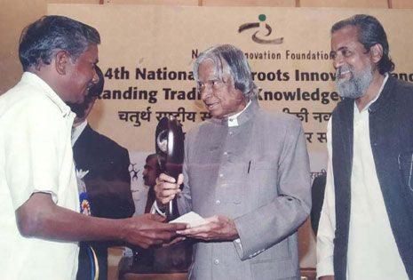 National Innovation Foundation Award for the innovator Weaver
